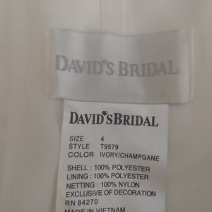 Dave and bridals wedding dress